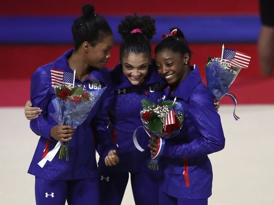 How Do Gymnasts Keep Their Hair Up? Here's Some Secrets From The Olympic Squad | Bustle