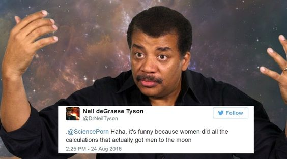 You don't wanna get a clap back from Neil DeGrasse Tyson.