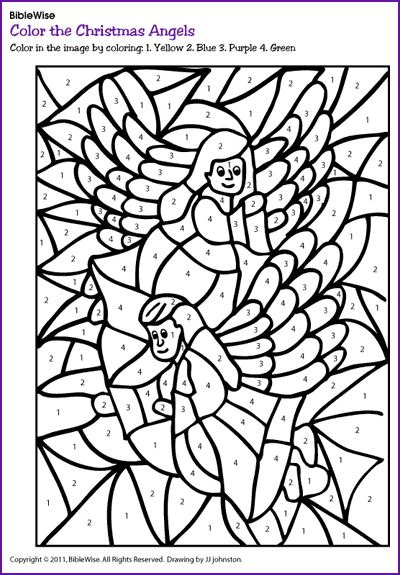 angels worksheets and coloring pages - photo#33