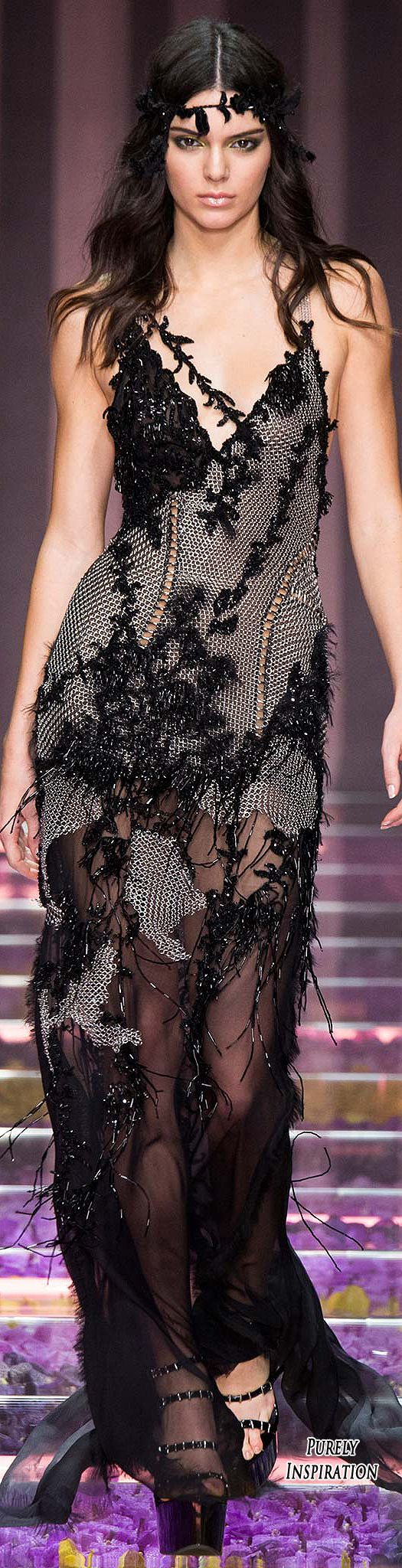 OMG I love this dress!! - Atelier Versace Fall 2015 Haute Couture | Purely Inspiration