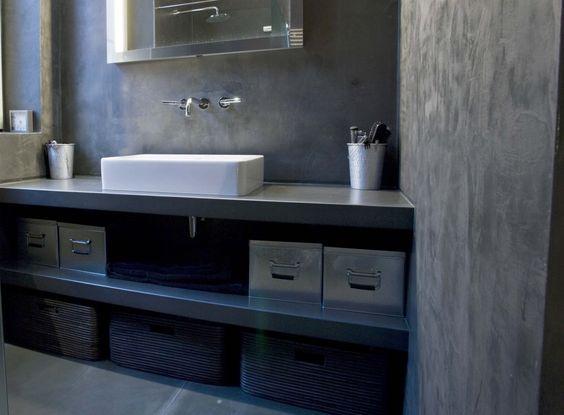 b ton cir salle de bain panier rangements salle de. Black Bedroom Furniture Sets. Home Design Ideas