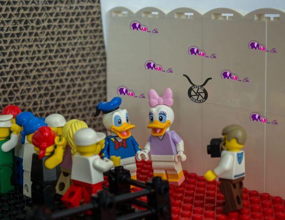 #Lego #Disney #Minifigures - Fotostrecke, Checkliste - wie man die Figuren ertasten kann. #photo #series #checklist #daisy #duck #donald