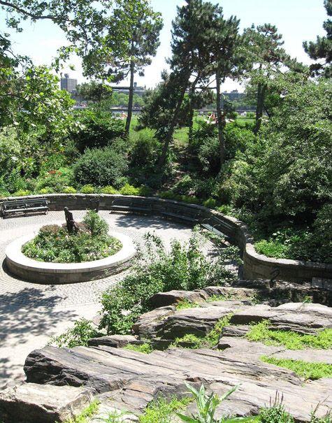 City Green Public Gardens Of New York