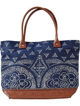 Womens Printed-Denim Totes...can I do this print with a bleach pen?