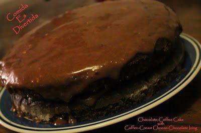 Comida es Divertida: Chocolate Coffee Cake