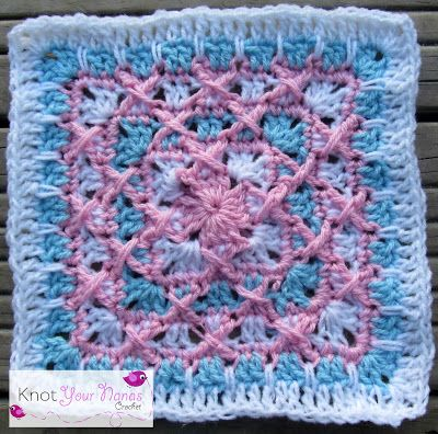 Knot Your Nana's Crochet: Granny Square CAL (Week 16)