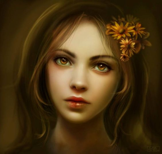 """Amber"" by Cris Ortega #DigitalArt"