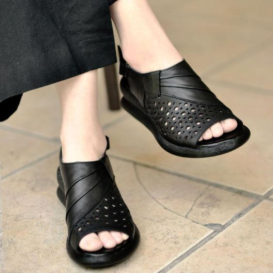 34 Platform Comfort Sandals You Need To Try shoes womenshoes footwear shoestrends