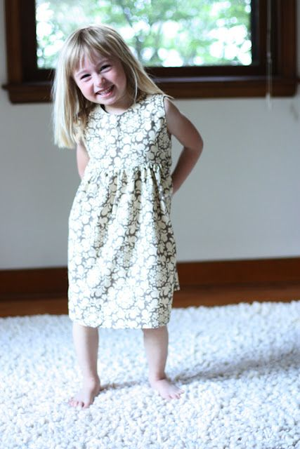 vintage inspired dress by noodlehead