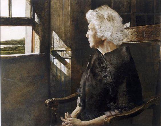 Portrait of Henriette, Andrew Wyeth: