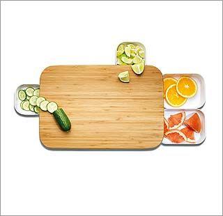 Una tabla para cortar... y guardar...