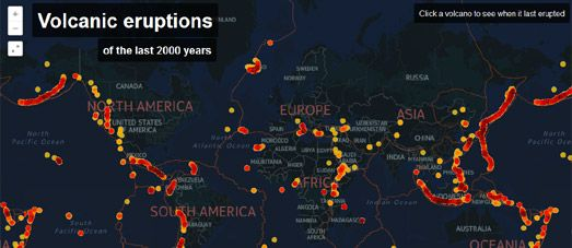 2000 Years of Volcanic Eruptions