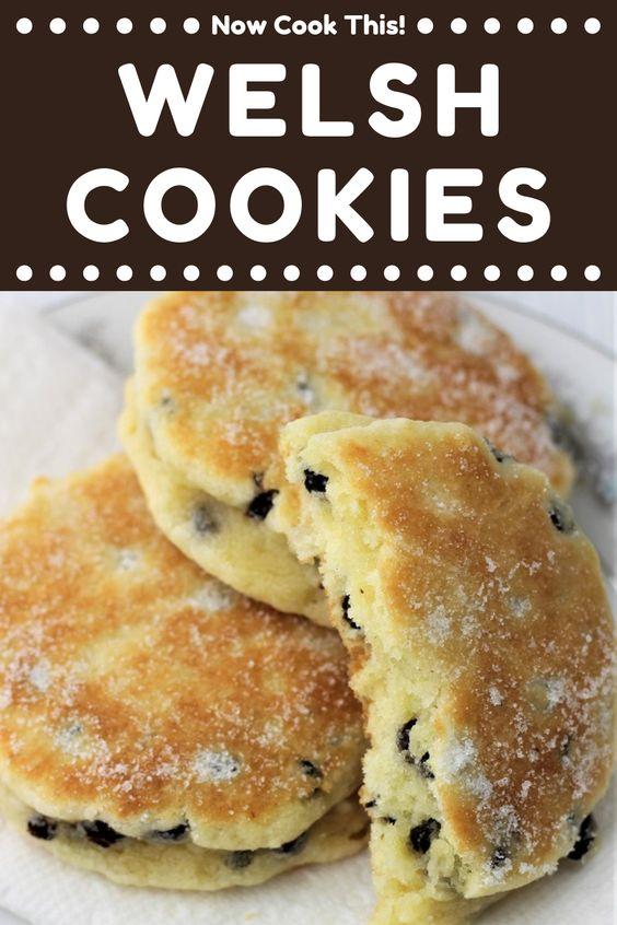 Welsh Cookies (aka Welsh Cakes)