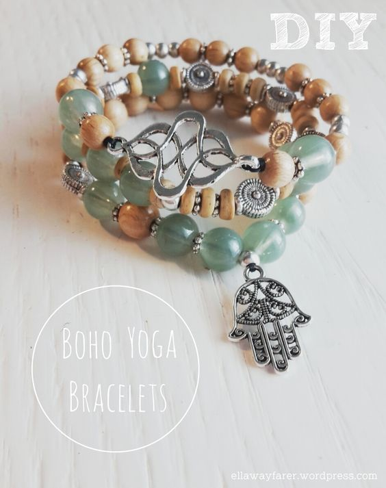 DIY: Boho Yoga Buddha Bracelets for the perfect hippie and bohemian style: