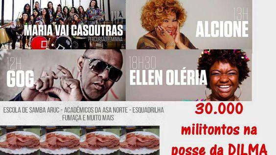 Post  #FALASÉRIO!  : E vai rolar a festa em Brasília...Celebridades e m...