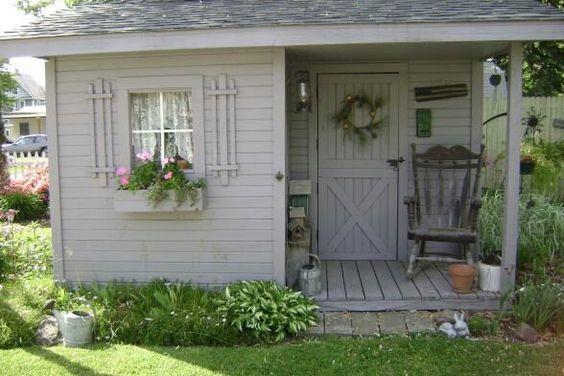 Sweet little garden shed