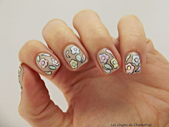 Inspired by @Nailed It. (http://blognailedit.blogspot.fr/2013/09/rococo-mods-muses-collection-swatches.html)