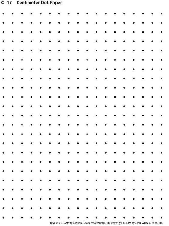 It's just a photo of Ambitious Printable Dot Paper