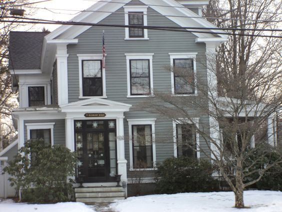 Duxbury Gray Hc 163 By Benjamin Moore House Colors Pinterest Paint Colors Colors And