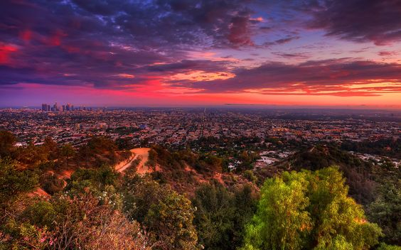 Los-Angeles-Sunsetjpg (2880×1800) CITY LOVE Pinterest Hd - city of sunrise jobs
