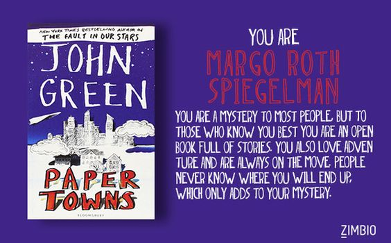Which John Green Heroine Are You?