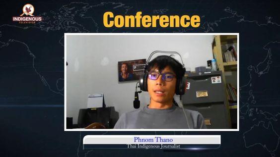 Phnom Thano Thai Indigenous Journalist On Hammer Show Epi 30 Journalist Youtube Thai