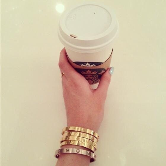 Starbucks  cartier (Kylie Jenner)