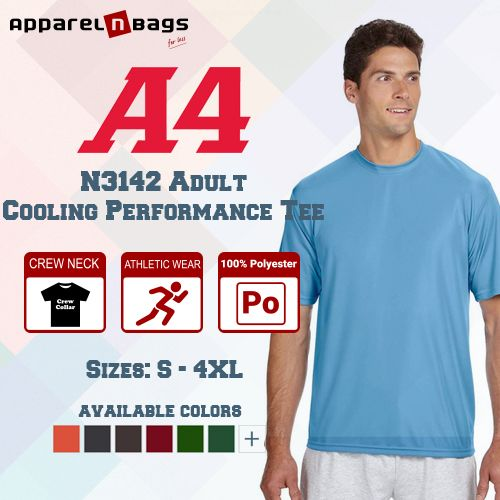 A4 N3142 Adult Cooling Performance Tee Price 4 78 46 Savings