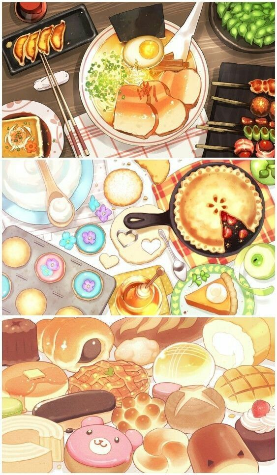 Pin By Madeinds Lee On Mis Personajes 2 Food Illustrations Watercolor Food Food Illustration Art