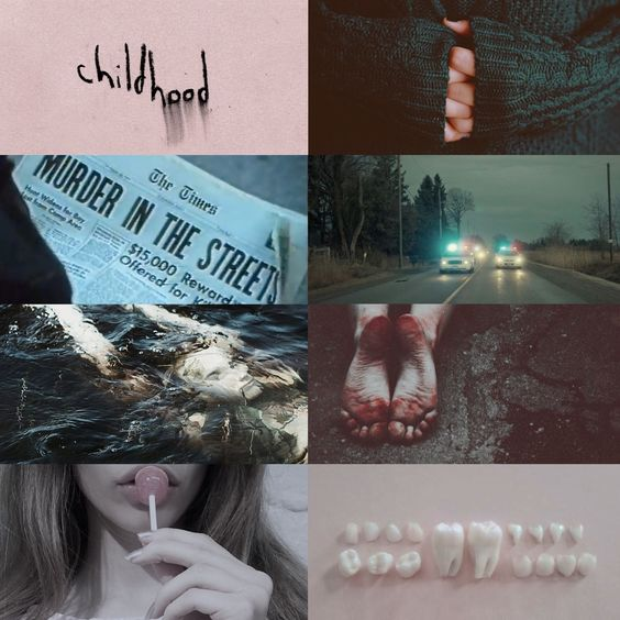 """""""Sharp Objects"""" by Gillian Flynn aesthetic. I love this book so much ❤️❤️❤️"""