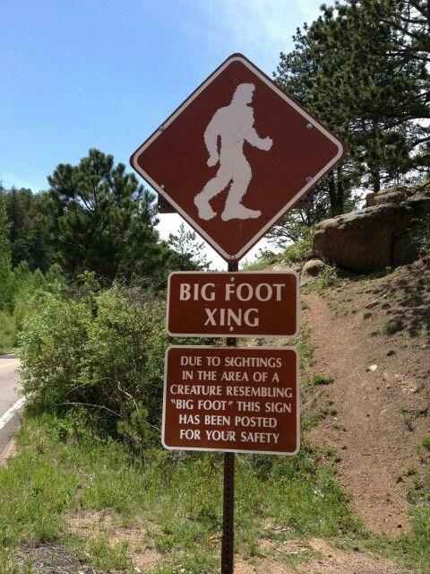 Big foot x-ing!