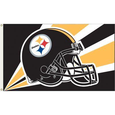 Annin Flagmakers Nfl Team Flag Wayfair In 2020 Steelers Flag Nfl Flag Steelers