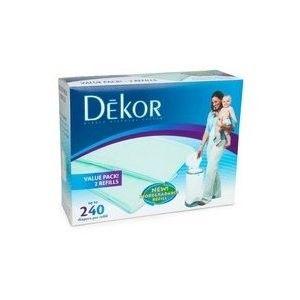 Diaper Dekor 2 Pk Refill