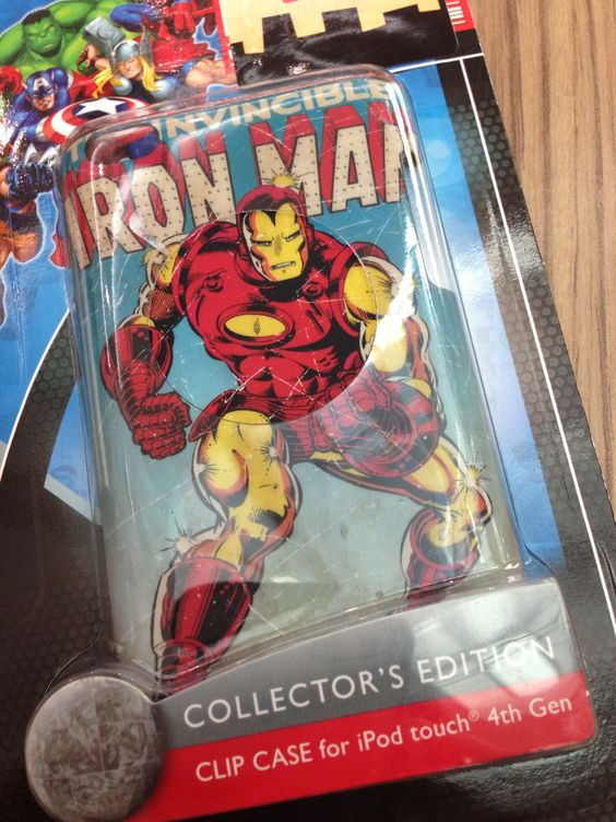 iPod 4th gen Iron Man collectible cover - art from Sept. 1979 I believe