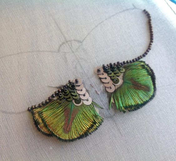 Вышиваем бисером элегантную бабочку. Часть первая - Ярмарка Мастеров - ручная работа, handmade: