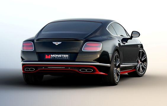 Bentley Continental GT 'Monster by Mulliner' | TecNovedosos.com