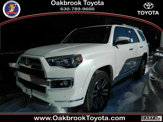 2014 Toyota 4Runner Limited For Sale | In stock-OAKBROOK TOYOTA Address: 550 E Ogden Ave, Westmont, IL 60559 Phone:(630) 789-9600 ASK FOR BRIAN