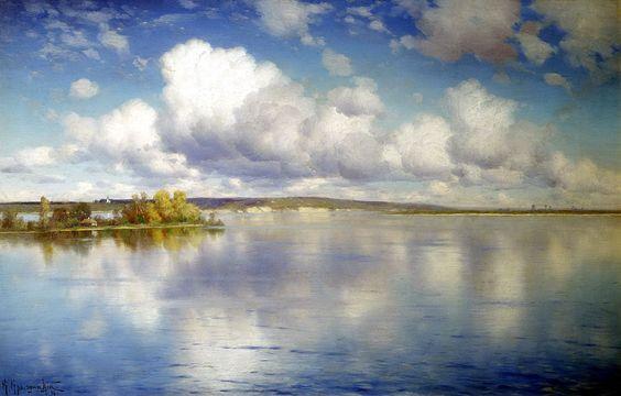 Konstantin+Yakovlevich+Kryzhitsky+-+Lake.jpg (1600×1022):