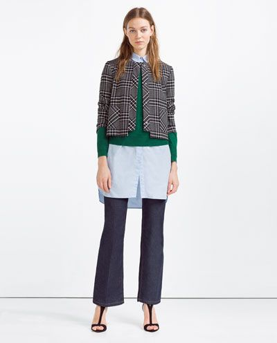 ZARA - WOMAN - SHORT BLAZER $89.90 | Zara S/S 2016 | Pinterest ...
