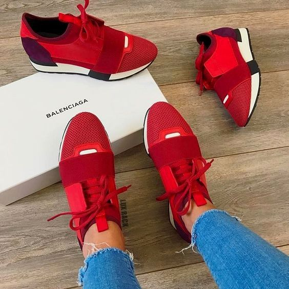 Sneakers fashion, Womens shoes wedges