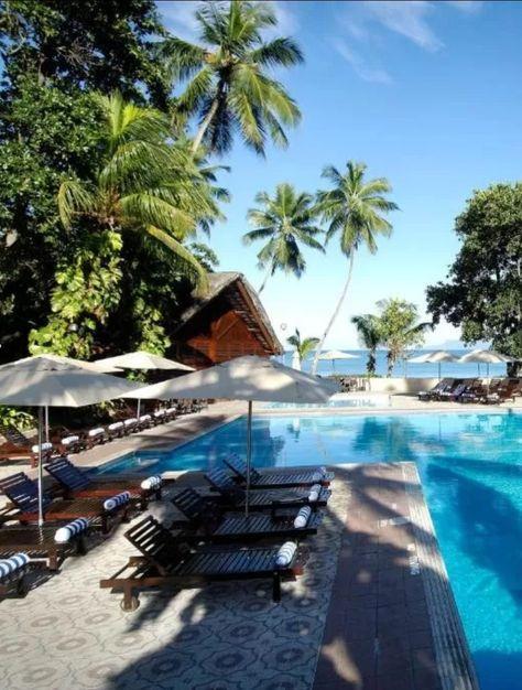 Seychelles Luxury Berjaya Resort Located At Beau Vallon Bay