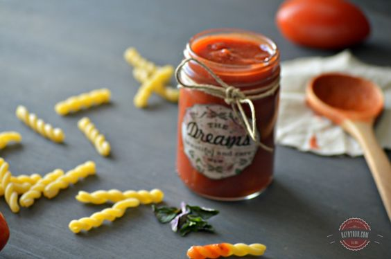 Salsa de tomate para pastas