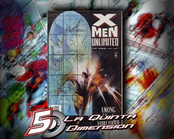 X-MEN UNLIMITED # 3 HISTORIA COMPLETA DE SABRETOOTH VERSUS GAMBIT Y ROGUE. $ 70.00 Para más información, contáctanos en http://www.facebook.com/la5aDimension