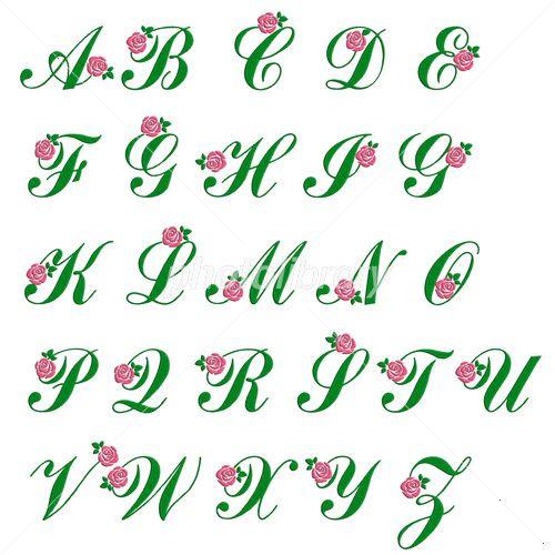 刺繍風のアルファベット 大文字 バラ イラスト素材 フォトライブラリーは 日本のストックフォトサイトです ロイヤリティーフリー画像を販売 動画素材はsサイズすべて無料 S 540円 Id 4162229 刺繍風のアルファベット 大文字 バラ はこ 刺繍 図案 刺繍