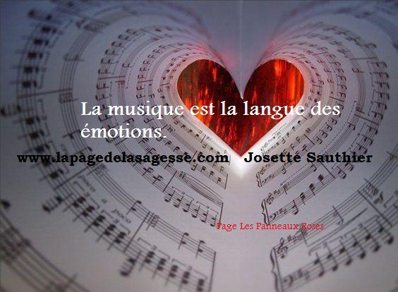 Citation sur la musique et les émotions