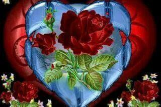 Beauty in a heart..