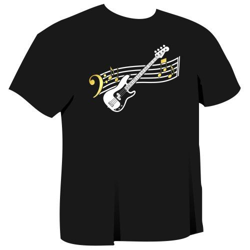 Bass Guitar Curved Stave - Black T Shirt Chest 39 Medium MusicaliTee MusicaliTee http://www.amazon.co.uk/dp/B004D9VY1I/ref=cm_sw_r_pi_dp_6hZyvb1F17HV5
