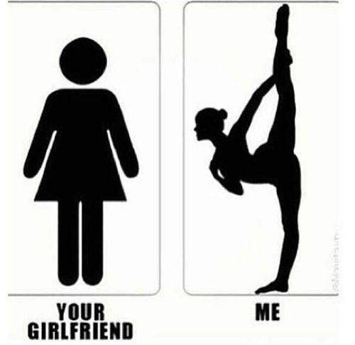 Hahahahahahahahahaha. Granted, That Girl Can Probably Run