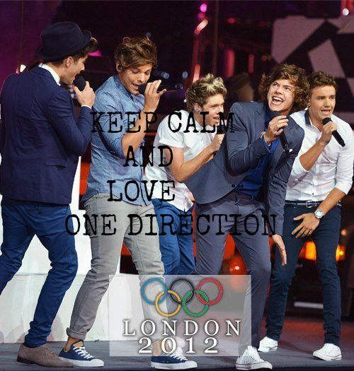 keep calm and love one direction:)