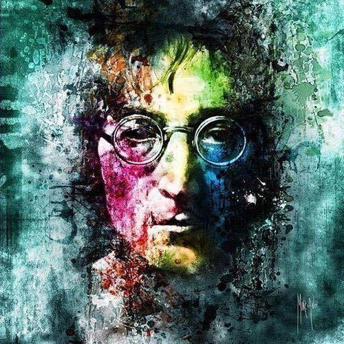 John Lennon – Oh My Love (single cover art)